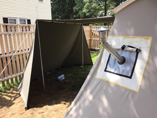 10x10 Deluxe Outfitter Tent
