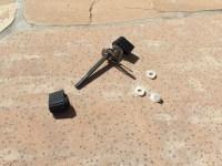 Sliding glass door locking mechanism