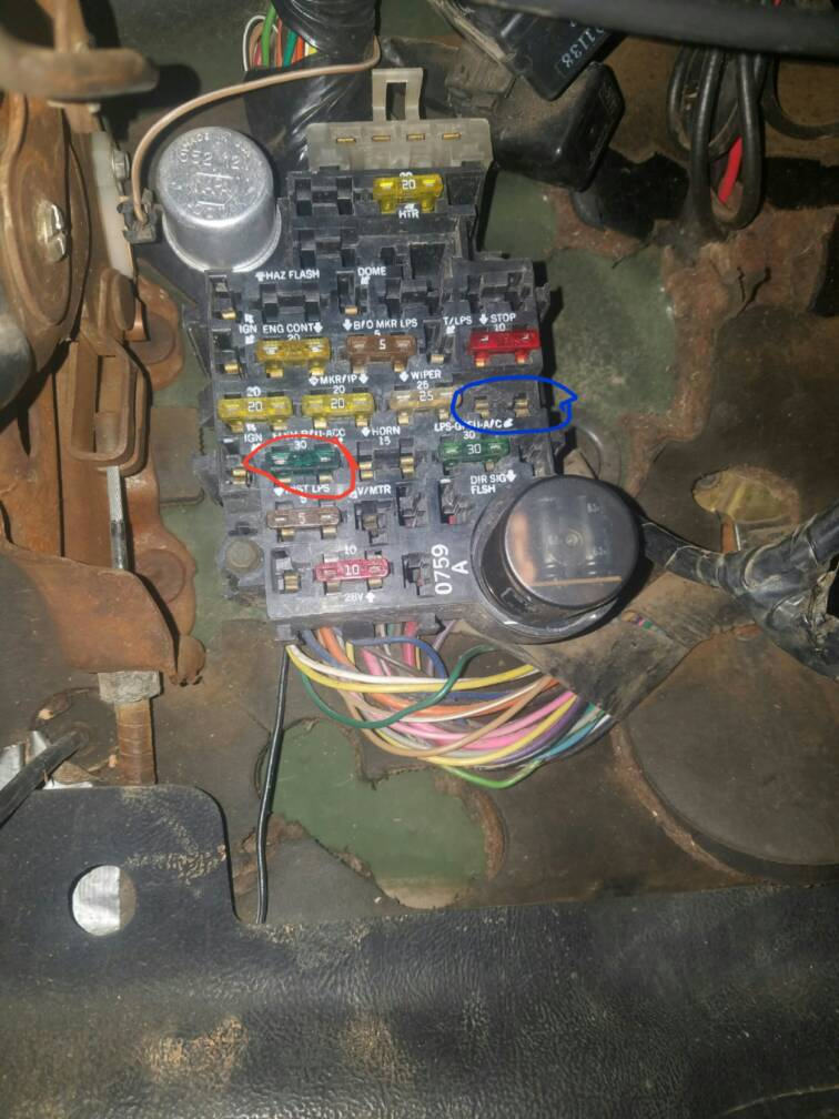 M1009 Dash Wiring Diagram Index listing of wiring diagrams
