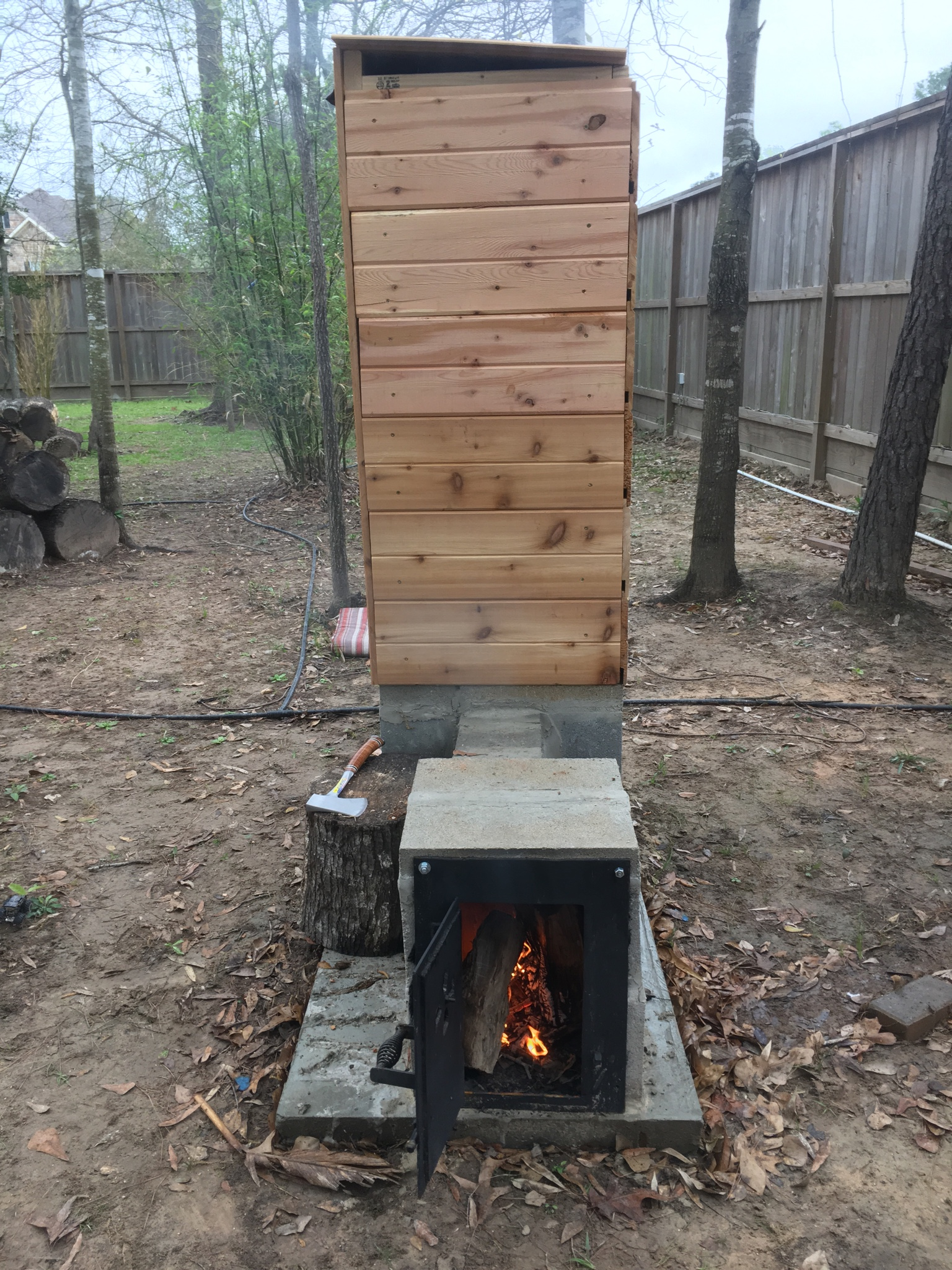 Hofemeier Küchen Meat Smoker Build