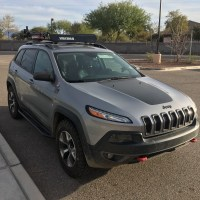 Crossbars and roof rack - 2014+ Jeep Cherokee Forums