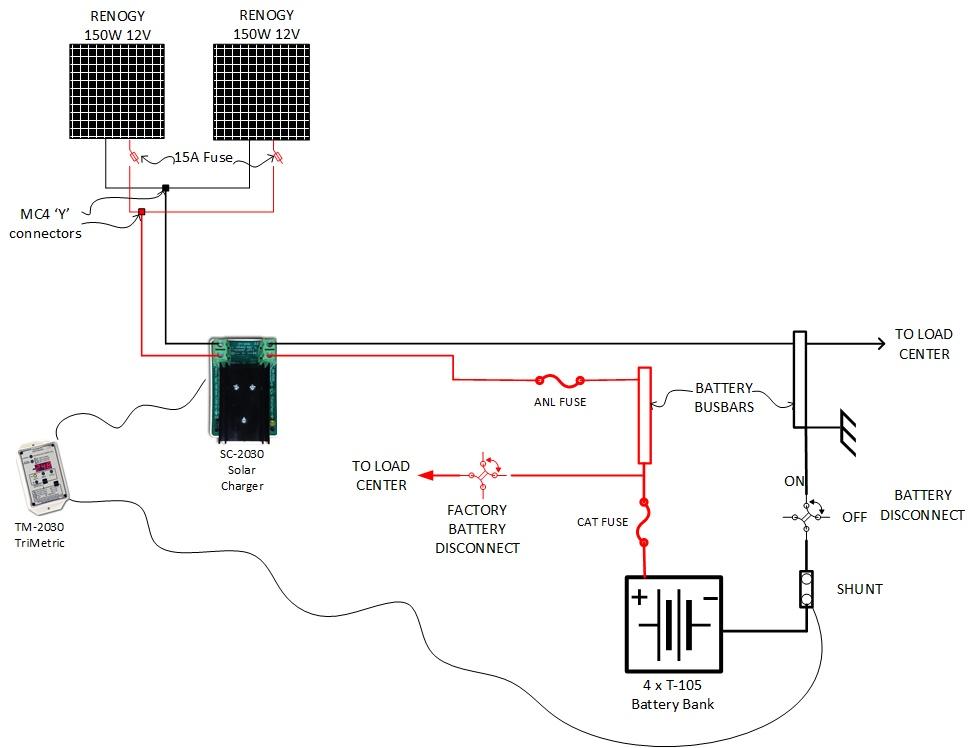 tv wiring diagram for reflection 303rls