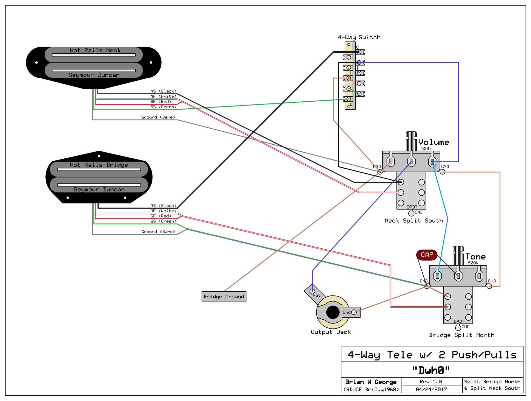 hot rail wiring diagram