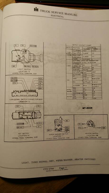 Pin Descriptions for 75 Scout II Ignition Switch BinderPlanet