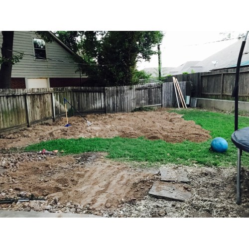 Medium Crop Of How To Level A Yard
