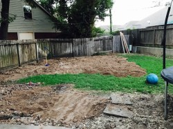 Small Of How To Level A Yard