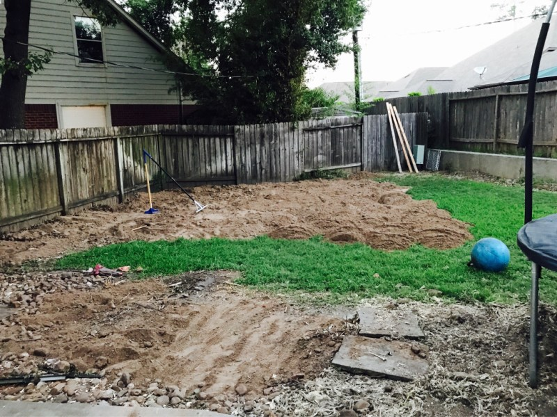 Large Of How To Level A Yard