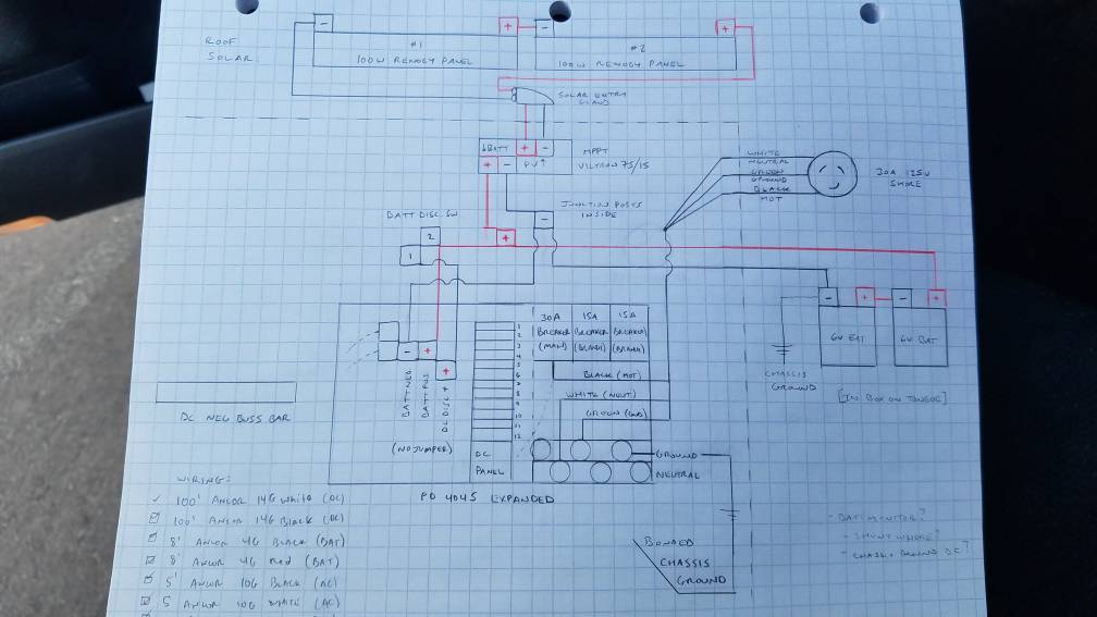 Teardrops n Tiny Travel Trailers \u2022 View topic - Electrical plan