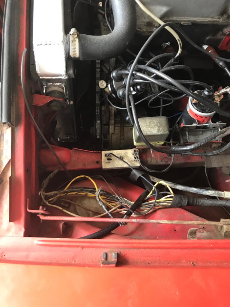 Mystery relay in 1969 Opel GT