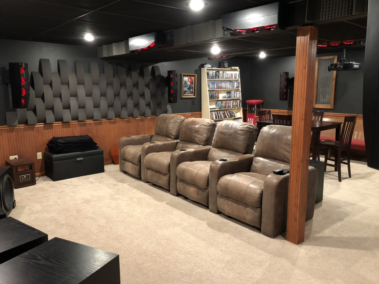 Home Theater Room Archaea S Multi Purpose Home Theater Room Avs Forum Home