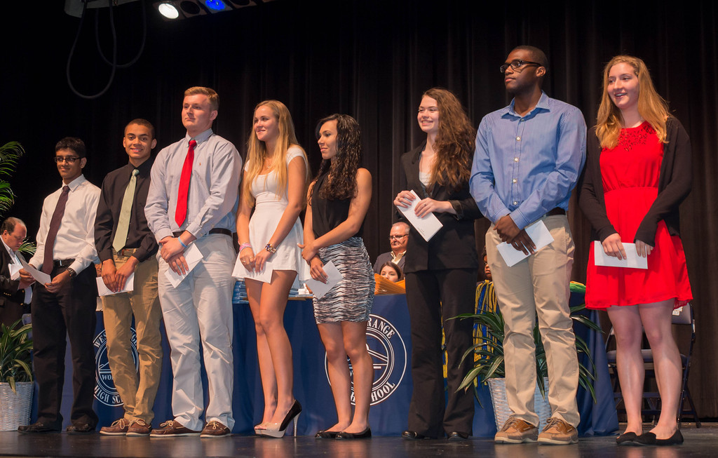 West Orange High School Graduating Seniors Receive Scholarship - seniors high school