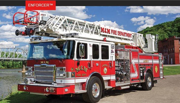 Paramus Fire Company Nj Aerials T Fire Trucks Fire