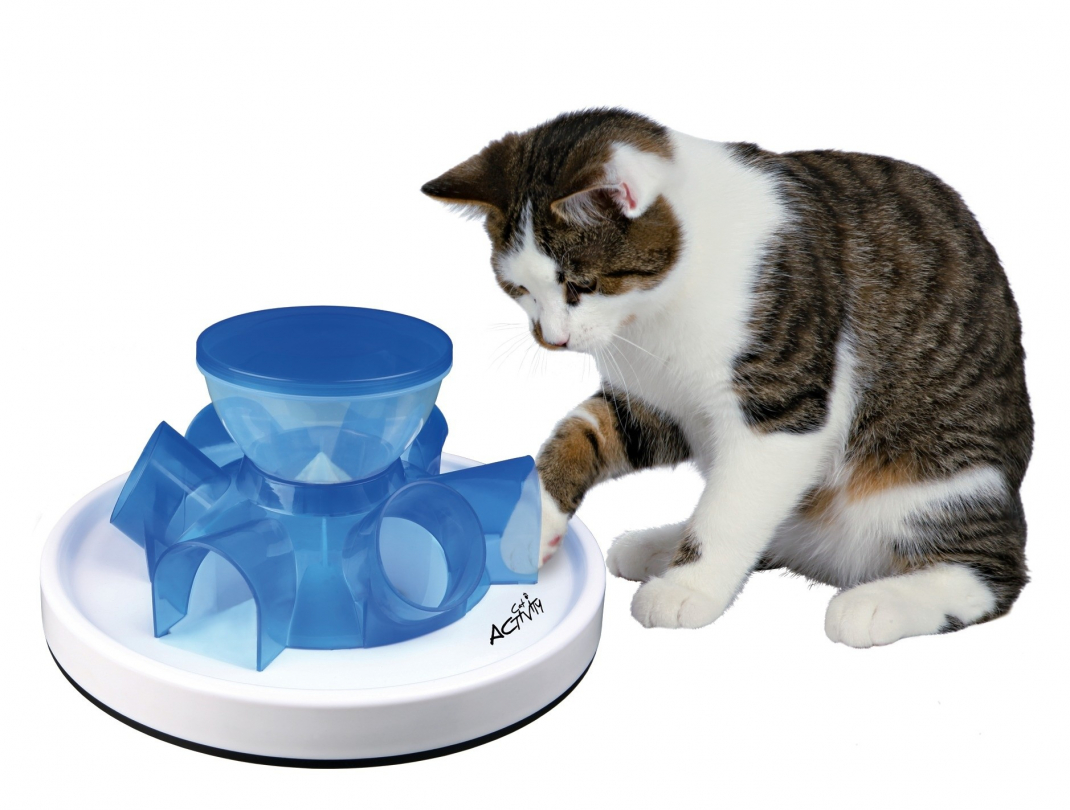 Tunnel Gatti Trixie Cat Activity Tunnel Feeder Giochi Di Strategia 28