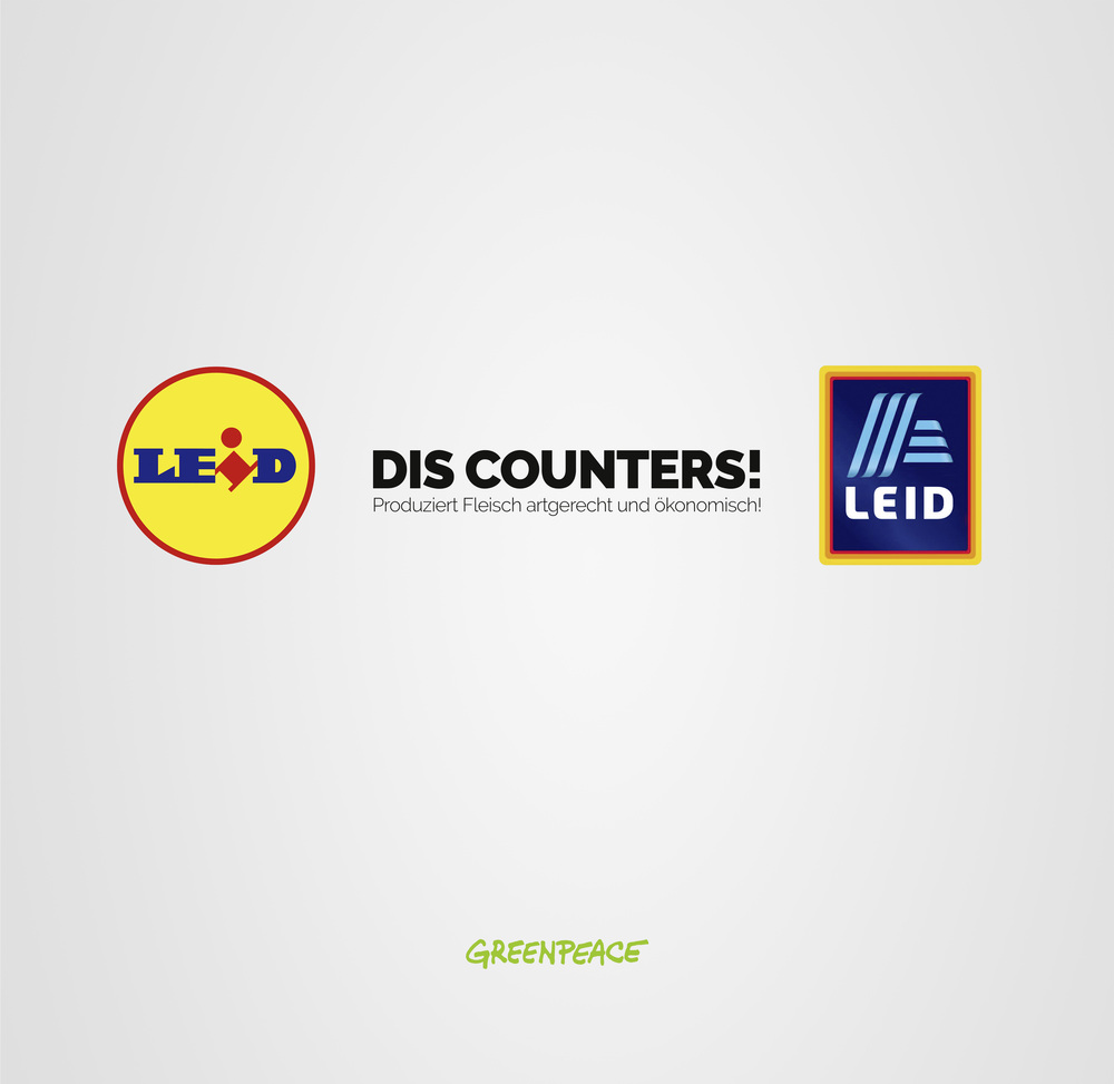 Led Stern Aldi Jovoto Dis Counters Greenpeace Against Cheap Meat Greenpeace