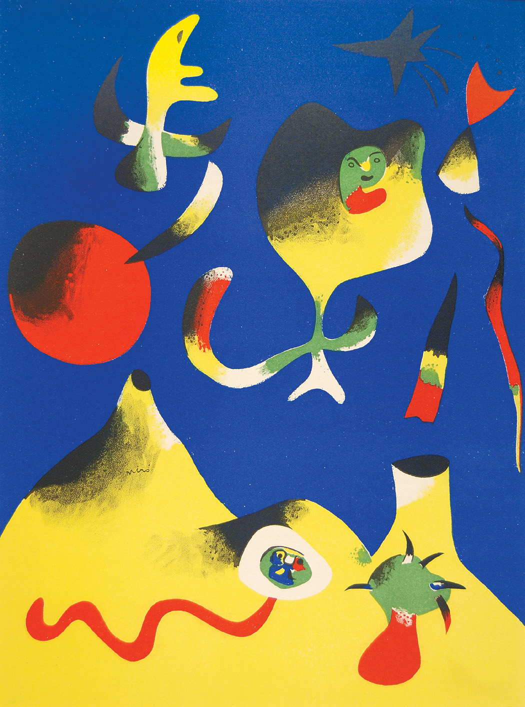 Joan Miro The Air Joan Miro Wikiart Org Encyclopedia Of Visual