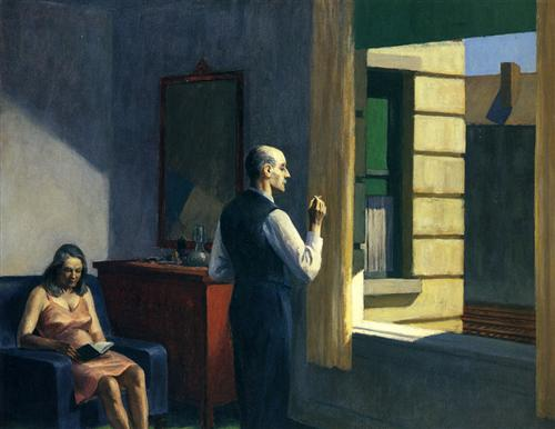 Hotel By A Railroad - Edward Hopper