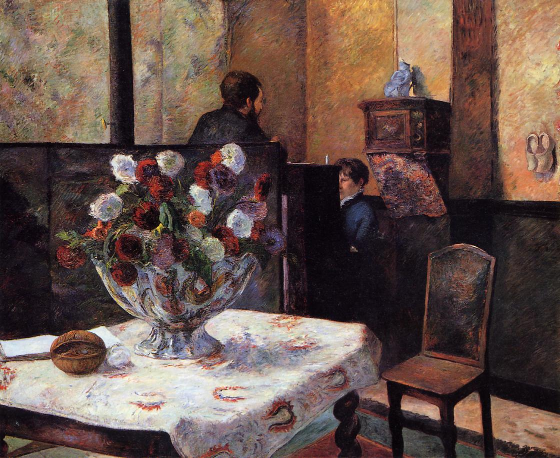 Peintre Intérieur Interior Of The Painter 39s House Rue Carcel 1881 Paul