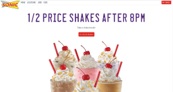 Dazzling 2016 03 03 23 Sonic Half Price Shakes Ending Sonic Half Price Shakes When Does It End