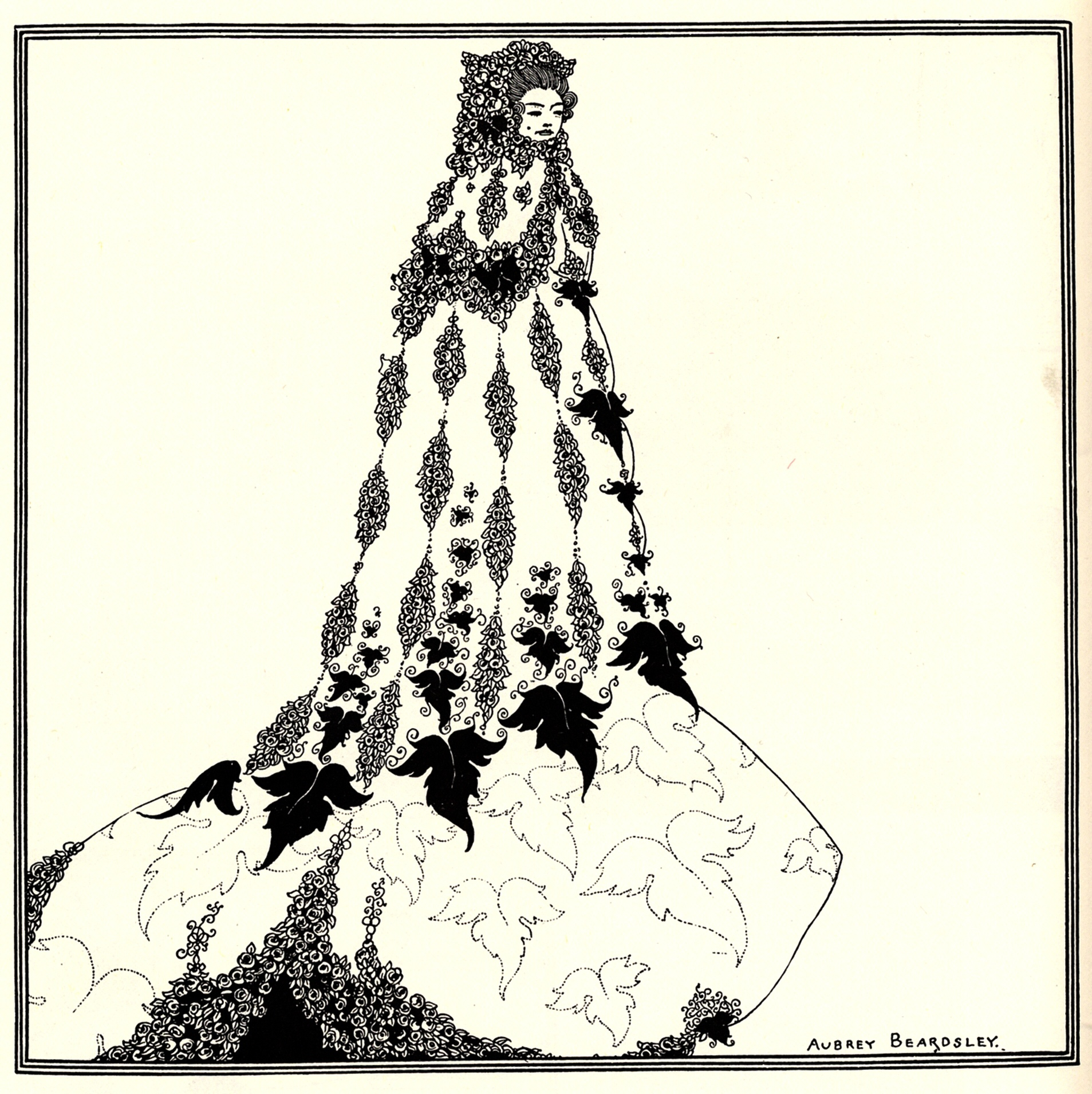Art Nouveau Costume A Suggested Reform In Ballet Costume Aubrey Beardsley