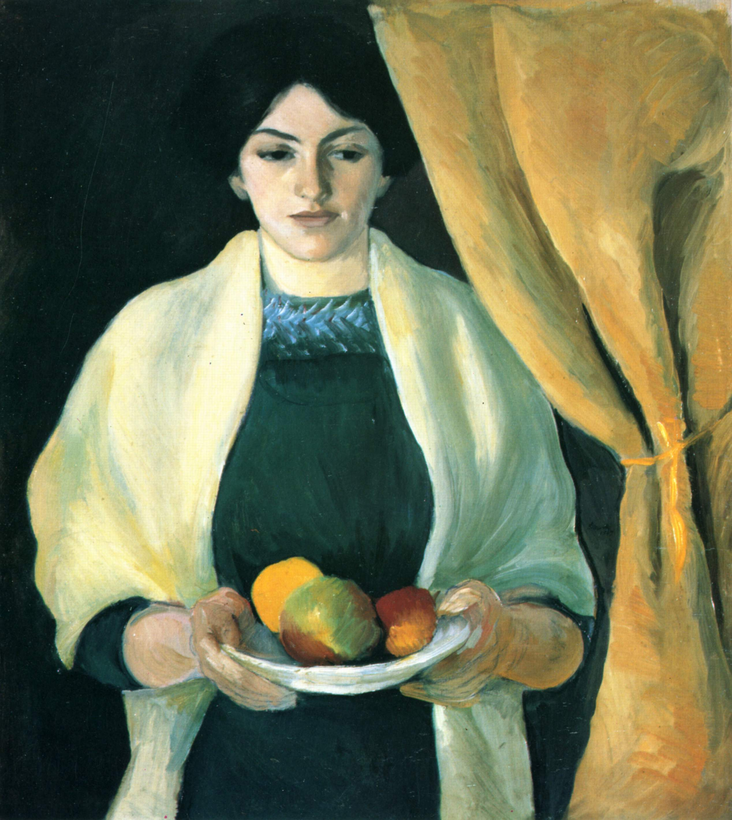 Cuadros De Picasso Wikipedia Portrait With Apples Portrait Of The Artist 39s Wife 1909