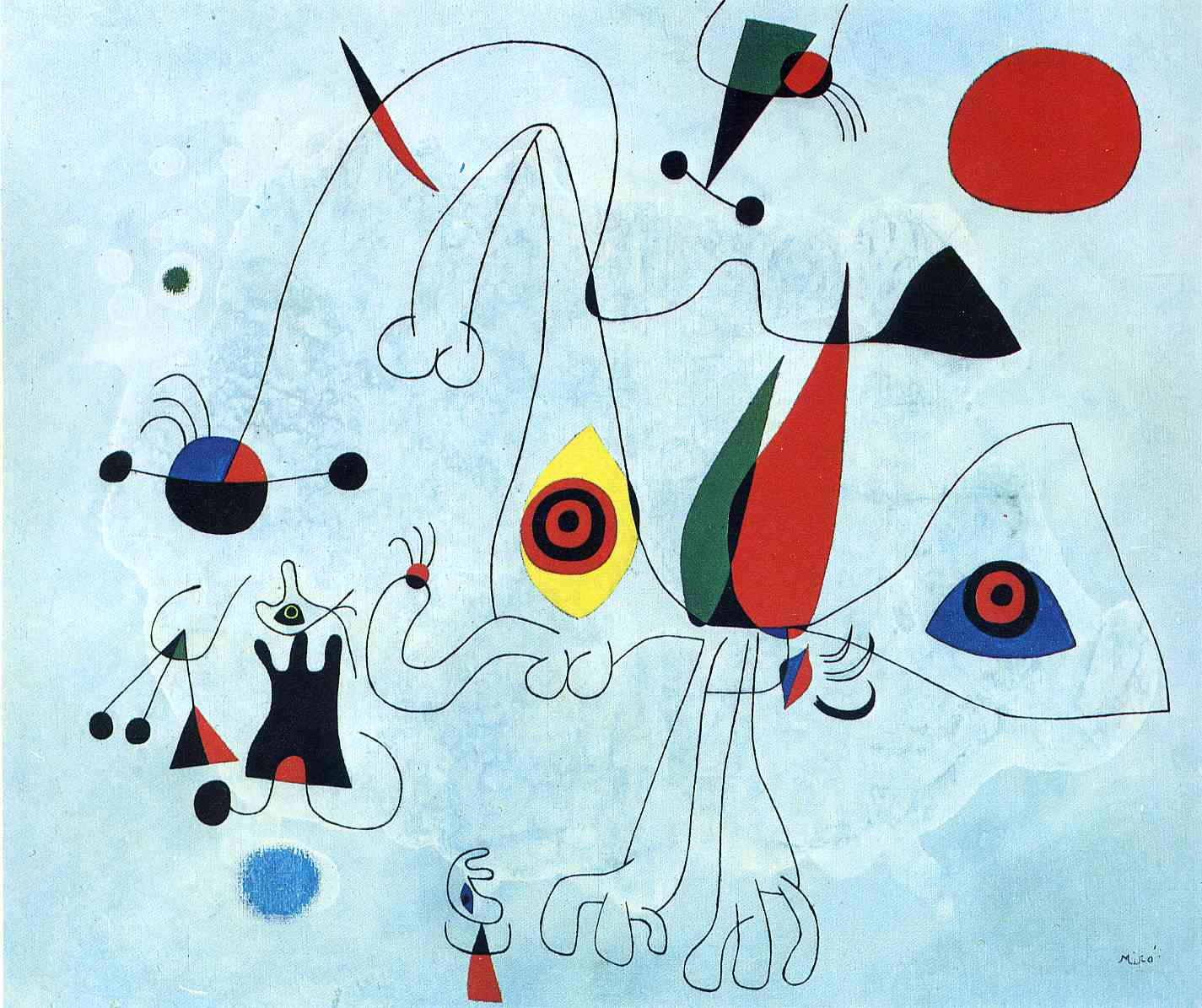 Joan Miro Pin Painting Joan Miro Wikipaintingsorg On Pinterest