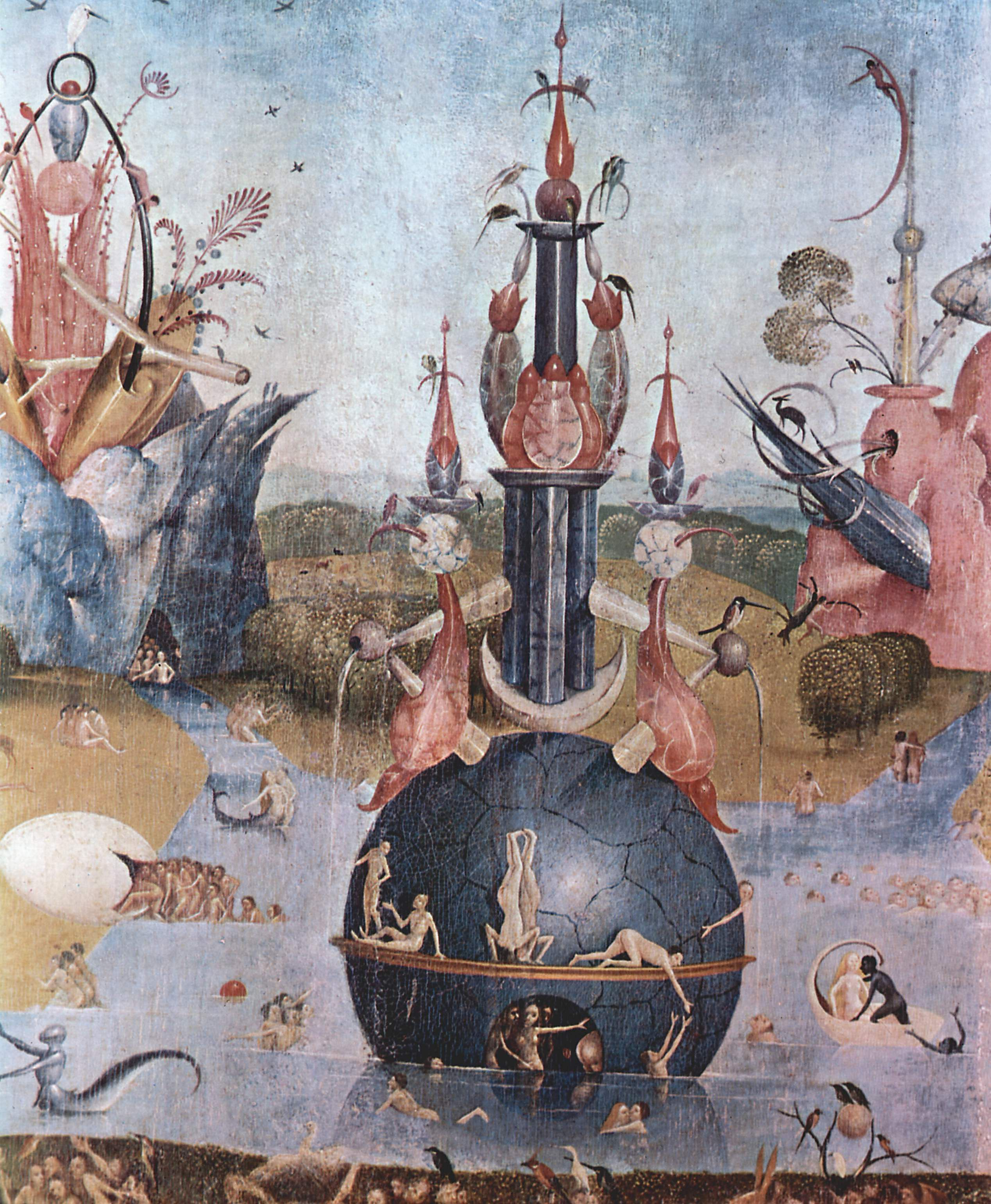 Hieronymus Bosch Giardino Delle Delizie The Garden Of Earthly Delights Detail 1460 1516