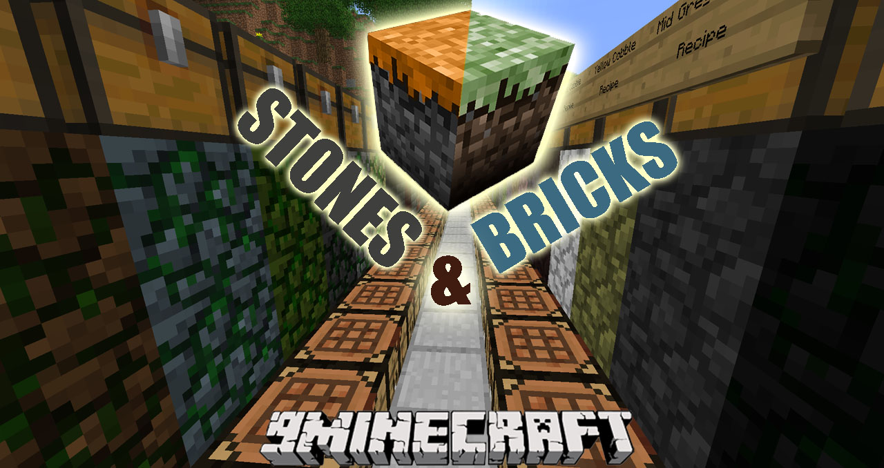 Minecraft Kitchen Mod 1.12.2 Stones And Bricks Mod 1 12 2 Missing Vanilla Blocks Играть в