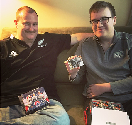 For Zach Sample, Collecting Hockey Cards with Asperger\u0027s has Brought