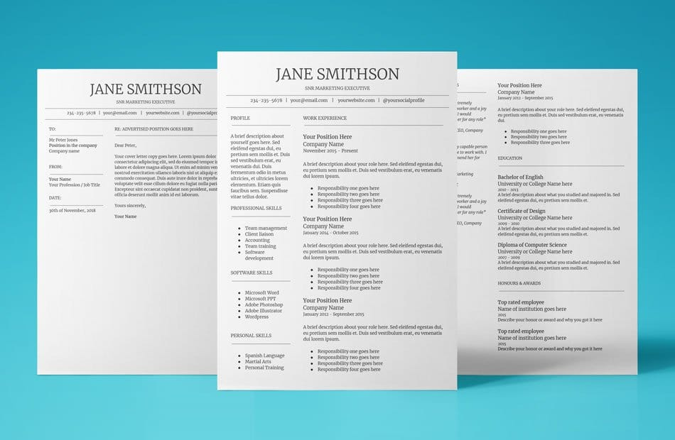 Free Google Docs Resume Template - Download  Use Now!  2019