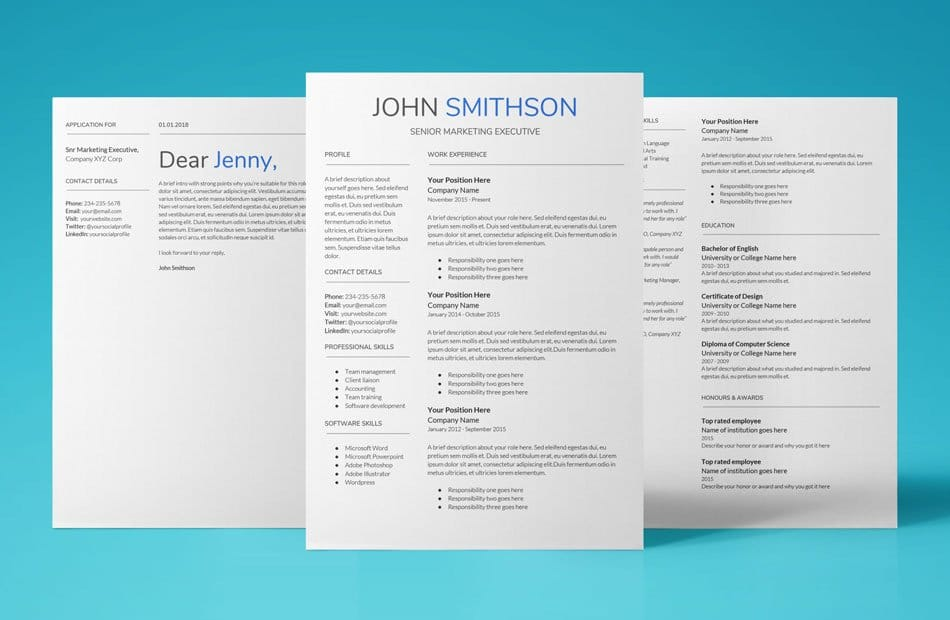 UpResume - Need To Have! Resume Templates  Cover Letters 2019