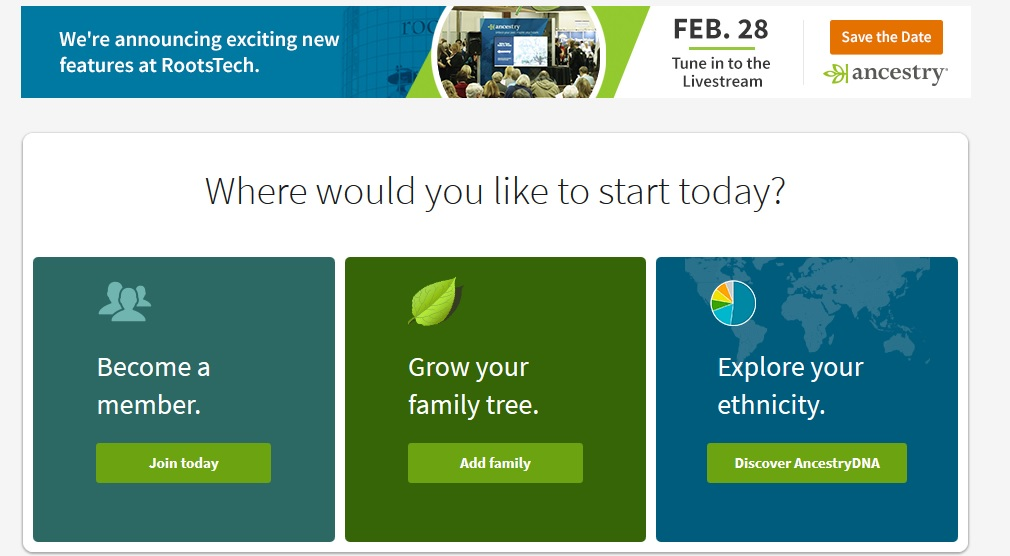 Ancestry To Announce Some New Features At Rootstech