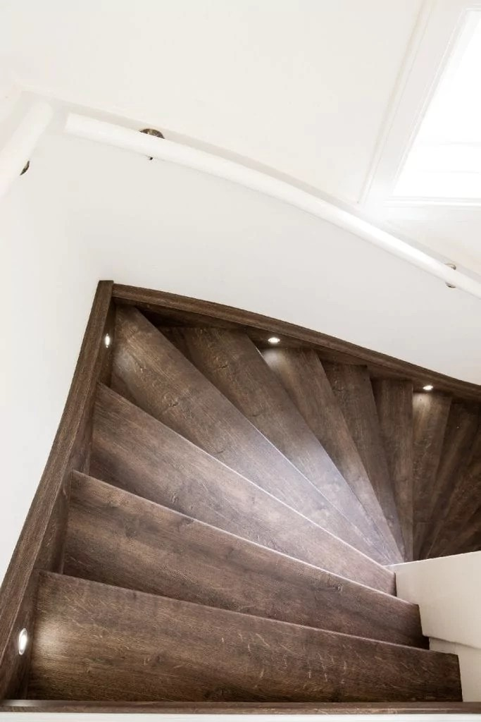 Led Verlichting Traptreden Led-verlichting | Traprenovatie Upstairs
