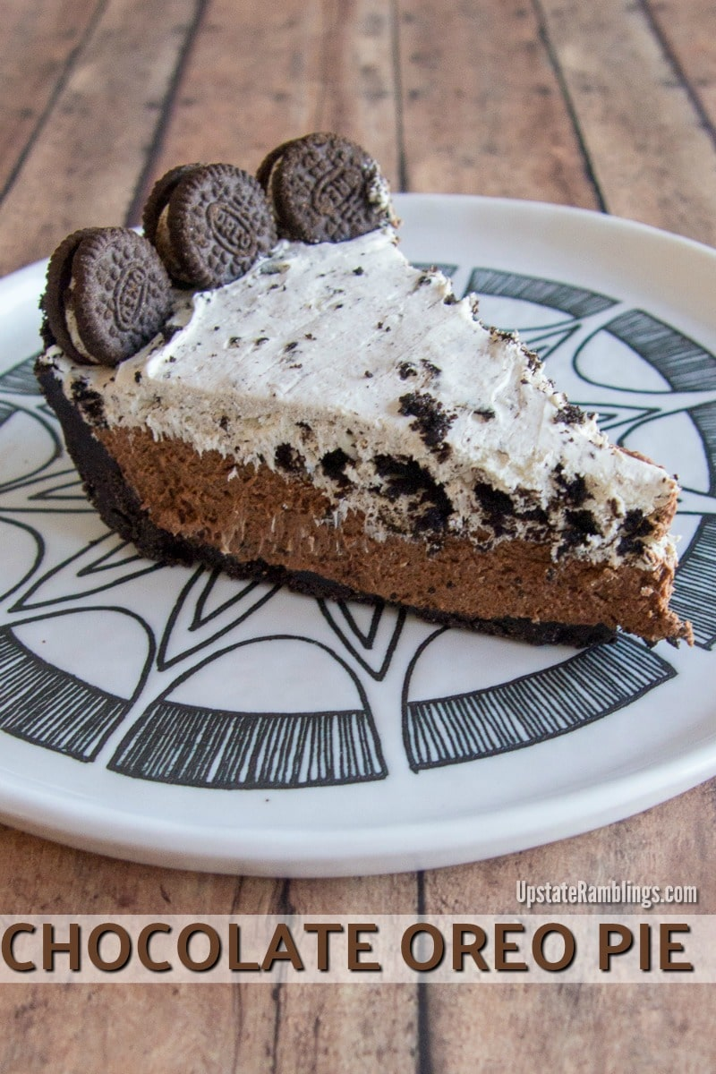 No Bake Oreo Kuchen Chocolate Mousse Oreo Pie