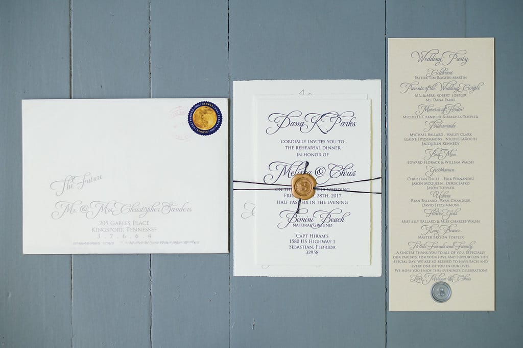 The Wedding Guest List - Up the Creek Farms