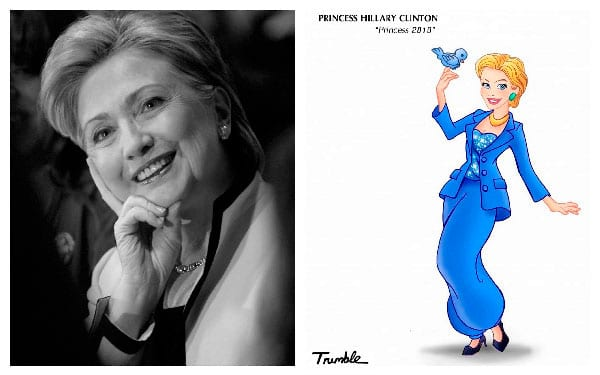 Princesa Hillary Clinton