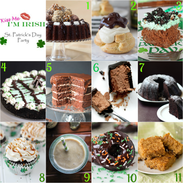 11 deliciously amazing Boozy St. Patrick's Day Party #KissMeImIrish | urbanbakes.com