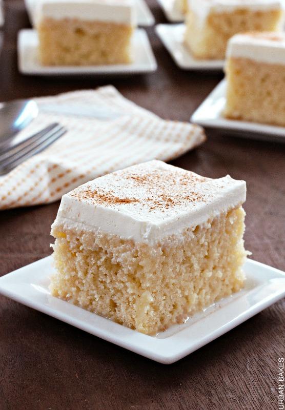 URBAN BAKES - Tres Leches Cake - URBAN BAKES