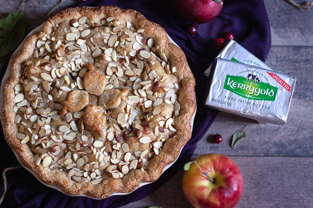 Cranberry Almond Apple Pie