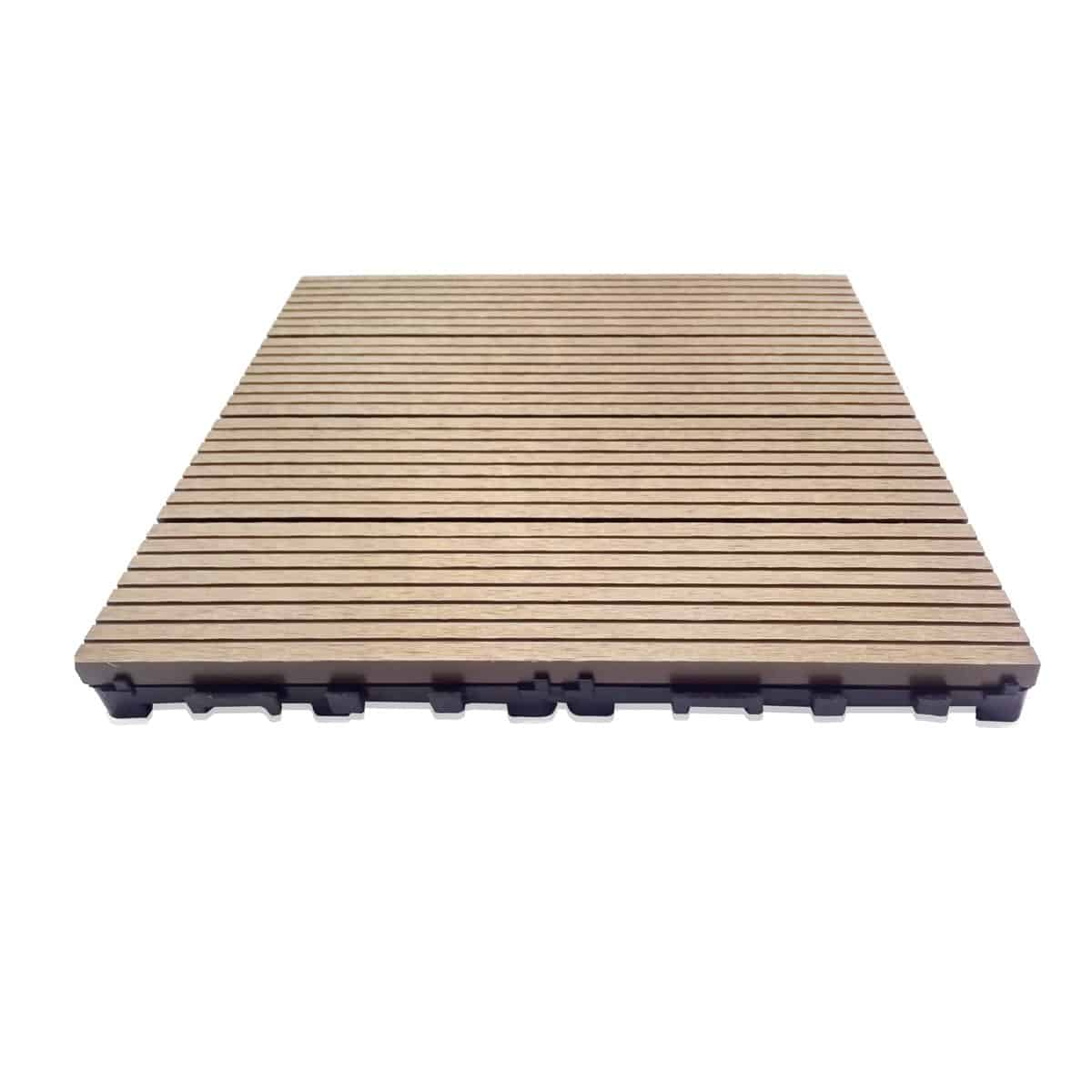 Composite Deck Tiles Dura Tile Wood Plastic Composite Wpc Deck Tiles Teak