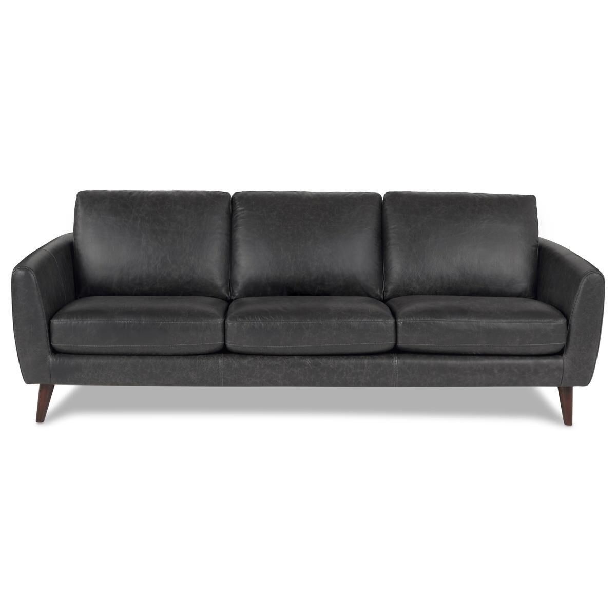 Leather Sectional Vancouver Henderson Leather Sofa Tio Licorice