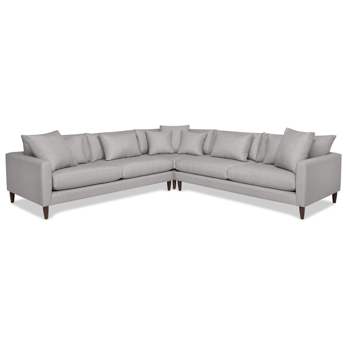 Fabric Sectional Sofas Canada Nixon Custom Sectional