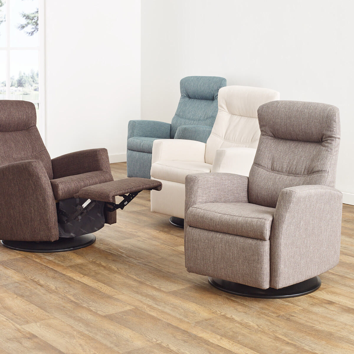 Fauteuil Inclinable Vista Habitat Gris Urban Barn