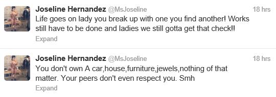 Joseline Hernandez Fires Stevie J. Again, Trashes Him on Twitter