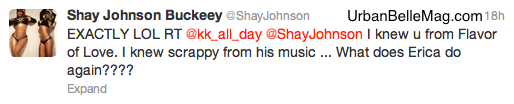 shay johnson and erica dixon twitter beef