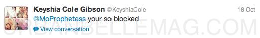 keyshia cole twitter
