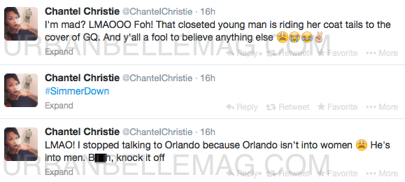 chantel christie twitter