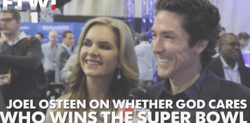 Joel Osteen Talks Whether God Cares Who Wins the Super Bowl