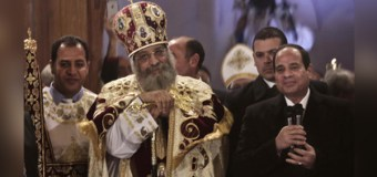 Abdel Fattah El-Sisi becomes first Egyptian president to attend Christmas church service