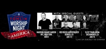 "Chris Tomlin Announces ""Worship Night In America"" Events (Video)"