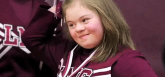 Teen Basketball Players Walk Off Court to End Bullying of Cheerleader With Down Syndrome